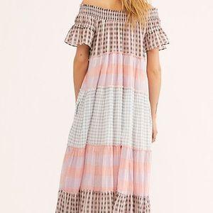 Free People Dresses - Free People plaid dress. Size xl